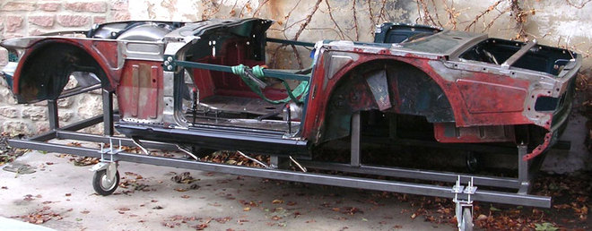 Karosseriearbeiten Triumph TR 6