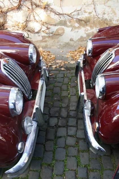 Jaguar XK Frontansicht
