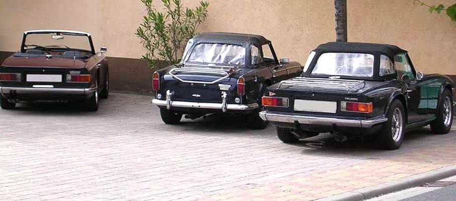 Triumph TR Modelle